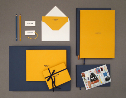 HENTEN. Corporate Identity. Packaging