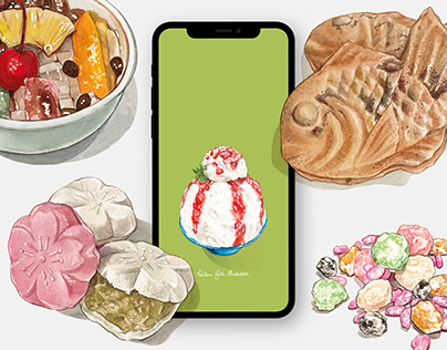 Japanese Sweets Wallpapers