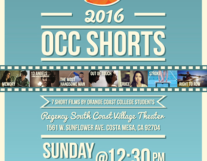OCC SHORTS POSTER 2016