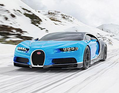 Bugatti Chiron - CGI
