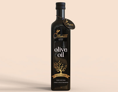 Ottoman Olive Oil Package Design