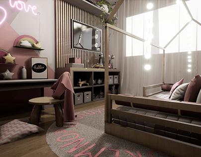 Dormitório infantil - Setor Arquitetura