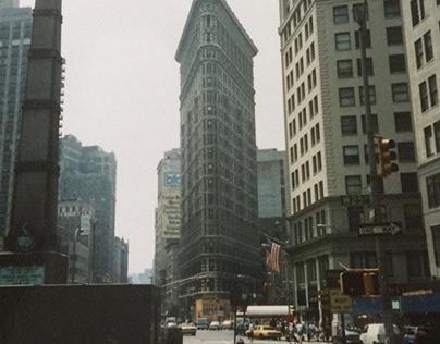 Flatiron Building New York (Summer 1990).