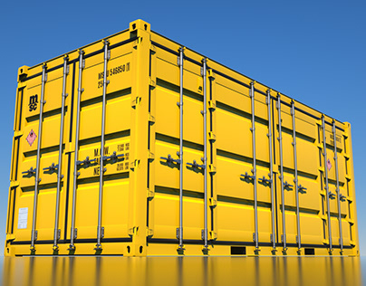 20'DV Open Side Shipping Container