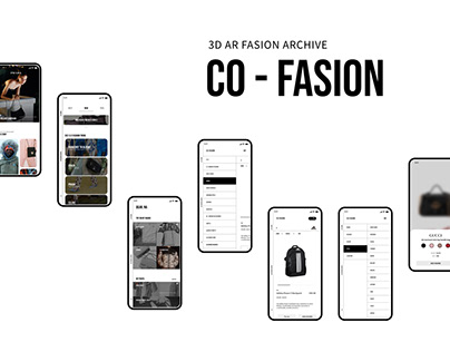3D AR fashion archive / co-fasion