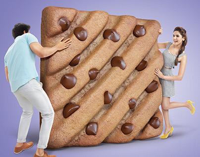 parle Hide and seek biscuit