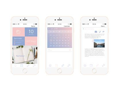 Reme, Concept App