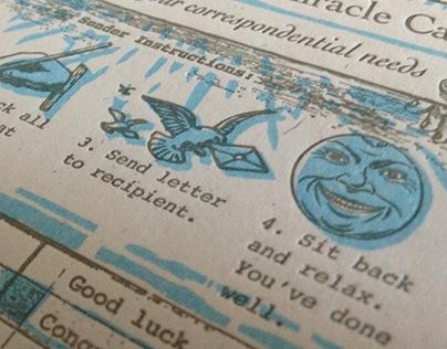 Greeting card - design and printing