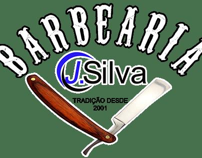 Criação de artes para fachada da barbearia J.Silva