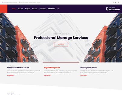Construction - WordPress