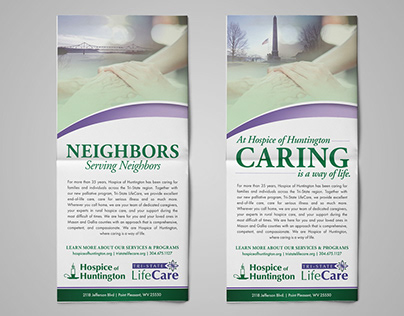Hospice of Huntington Print Ads