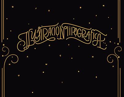 ✍ TALLER · Ilustración tipográfica y composición.