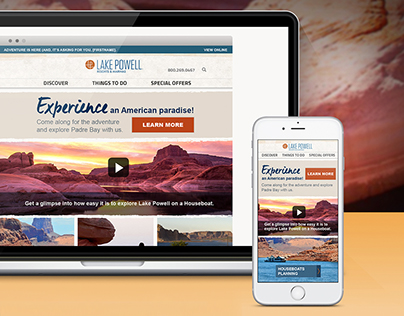 EMAIL MARKETING TEMPLATE: Lake Powell