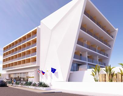 Hotel design - Seasons hotel in Ayia Napa