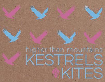 Kestrels & Kites - CD Cover (Screen Print / Digital)