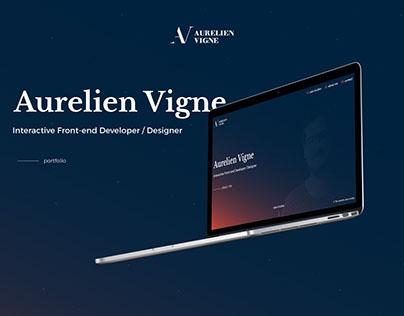 Aurelien Vigne - Portfolio