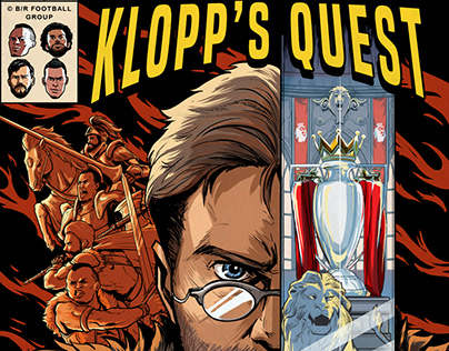 LIVERPOOL PREMIER LEAGUE CHAMPIONS COMIC | BR FOOTBALL