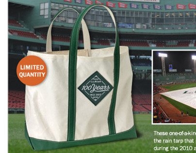 L.L.Bean & Red Sox Email Project