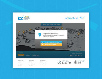 ICC Interactive Map