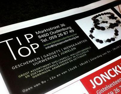 Tip-top advertentie december 2012