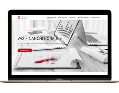 ARFIN Corporate Web design