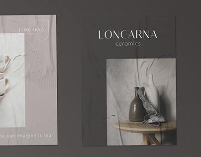 Logo loncarna | ceramics