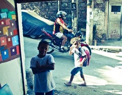 Shutters on the Favela - Saracinesca sulla Favela