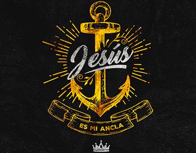 Jesus es mi ancla - Poster + T shirt