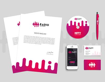 Radio Mazury - logo & branding