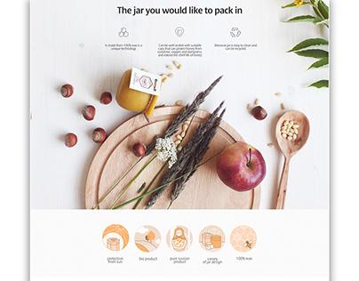 Naturoney / Web Design