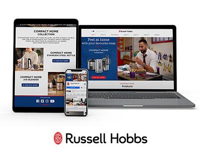 Marketing & Advertising: Russell Hobbs AW19
