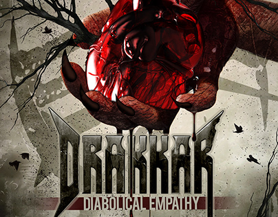 "DRAKKAR ""Diabolical Empathy"" CD artwork"