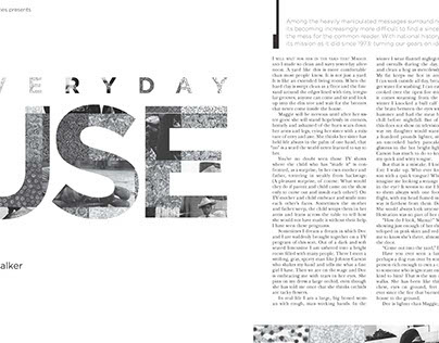 Short Story Editorial Design