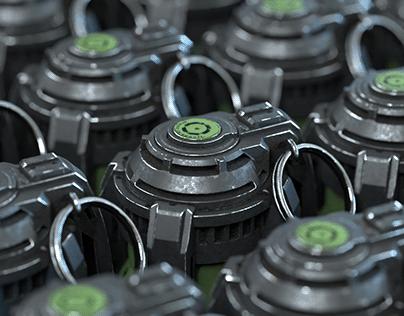 SciFi Grenade Concept