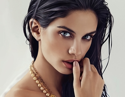 Sara Sampaio Digital Portrait