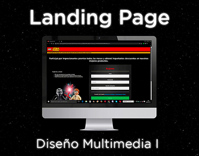 Landing Page - Diseño Multimedia I (UADE 2019)