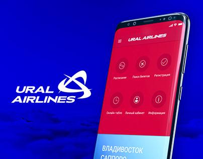 Mobile app for Ural Airlines