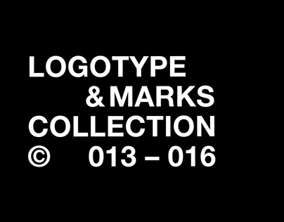 LOGOTYPE &MARKS COLLECTION © 013 – 016