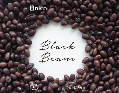 Package Redesign: Unico Beans