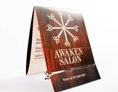 Awaken Salon Brochure