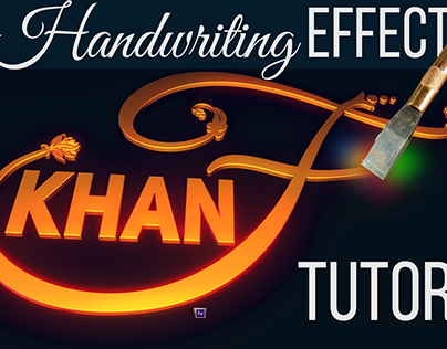 Dramatic Handwriting Effect | Tutorial - After Effects