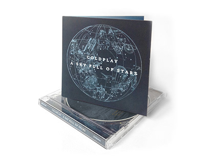 CD Design: Coldplay - A Sky Full of Stars EP