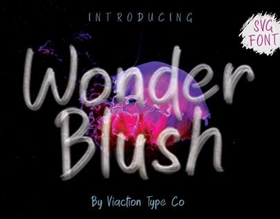 FREE FONT - Wonder Blush