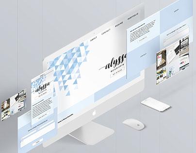 Personal Portfolio Website - Original