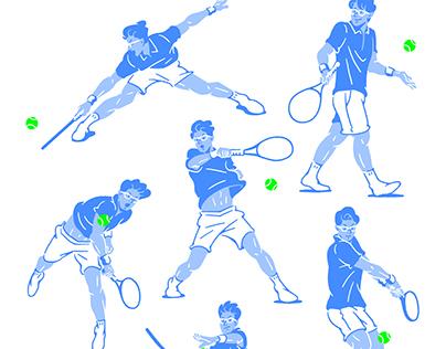 The best tennis player in Korea.