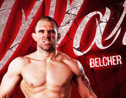 Ready for War - UFC Fighter Alan Belcher Poster