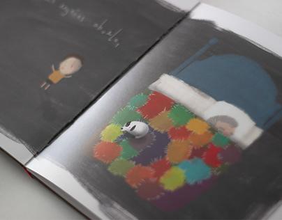 """Por qué lloras abuelo"" / Illustrated Children's Book"