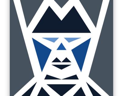 Five Triangle Faces