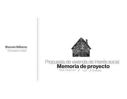Concurso SW - Propuesta de vivienda de interés social