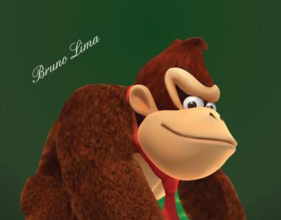 Donkey Kong Ilustração